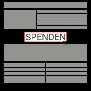 Beispiel Spendenbutton