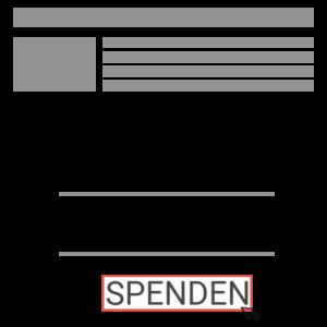 Spendenformular Beispiel